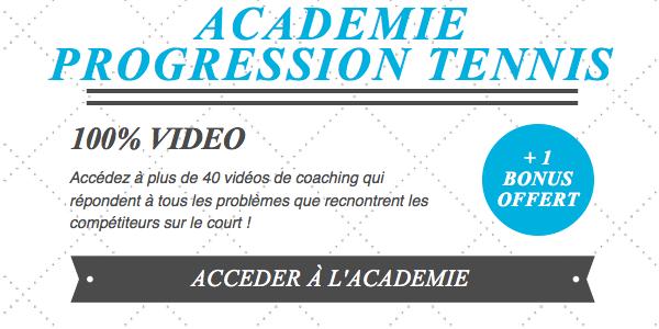 Académie Progression Tennis